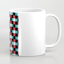 Pixeled Squares Coffee Mug