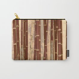 Vintage Bamboo Design #buyart #society6 Carry-All Pouch
