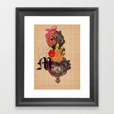 Murder Mind Framed Art Print