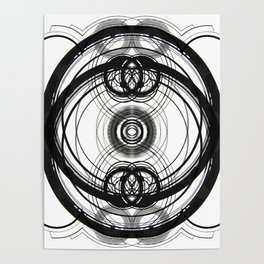 black and white II Poster