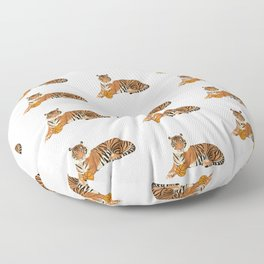 Basketball Tiger Floor Pillow