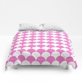 Fan Pattern 321 Pink Comforters