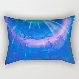 Zodiac sign Pisces Rectangular Pillow