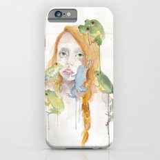 Exodus and the Frog Prince Portrait  iPhone 6s Slim Case