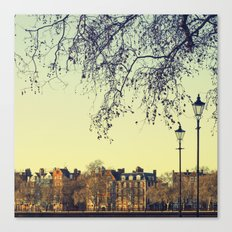 A place called London Canvas Print