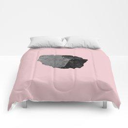 Pink Boulder Comforters