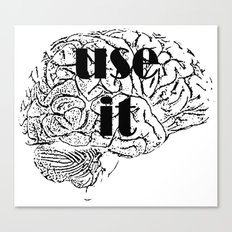 USE IT Canvas Print