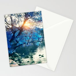 Hope in blue Stationery Cards