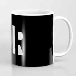 Simple Noir Coffee Mug