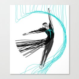 Ballet Illustrated #9 Canvas Print