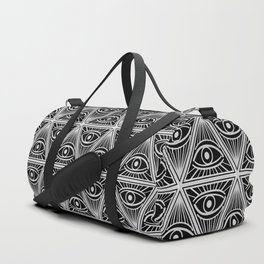 Third Eye Magic Geometric Pattern Duffle Bag