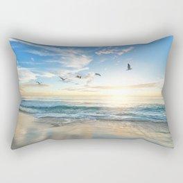 Beach Scene 34 Rectangular Pillow