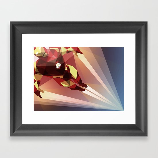 Man Made Framed Art Print