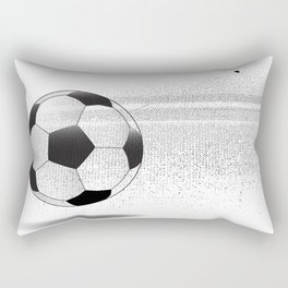 Moving Football Rectangular Pillow