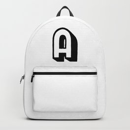 Capital letter A Backpack