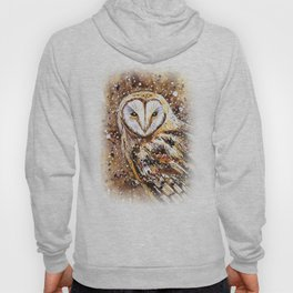 winter's owl Hoody