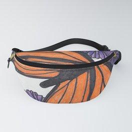 Monarch Butterfly Fanny Pack