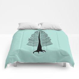 West Coast Cedar Tree Comforters