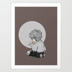 Burn your dreams Art Print