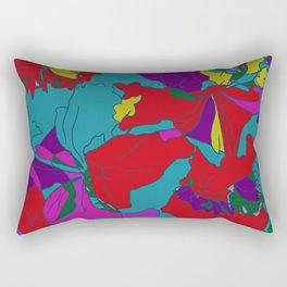 summers grace #2 Tropical Rectangular Pillow