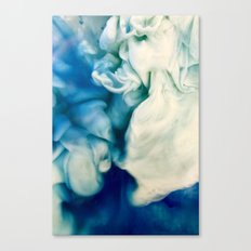 Blue Sea Canvas Print