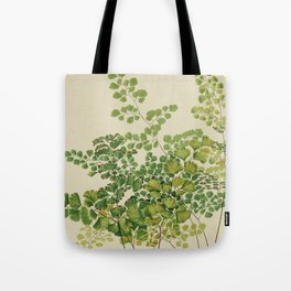 Maidenhair Ferns Tote Bag
