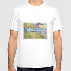 Country house Mens Fitted Tee White MEDIUM