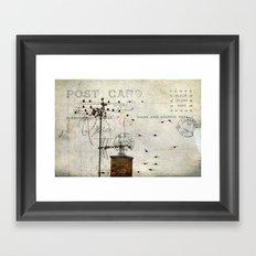 Distant Memories Framed Art Print