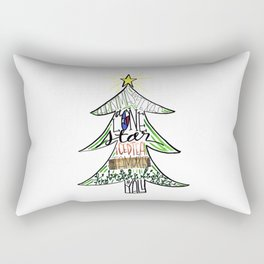 Christmas in Texas Rectangular Pillow