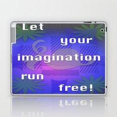 Let it run! Laptop & iPad Skin