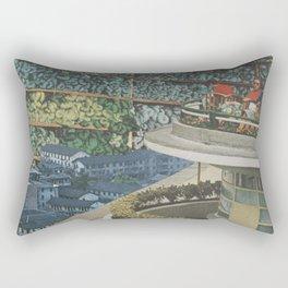 An Exotic Holiday Rectangular Pillow