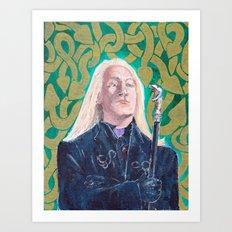Lucius Malfoy Art Print