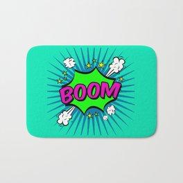 Boom Blue Boom Bath Mat