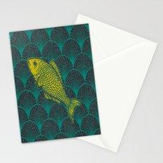 Swimming Upstream 3 Stationery Cards