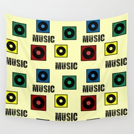 Music design Wall Tapestry