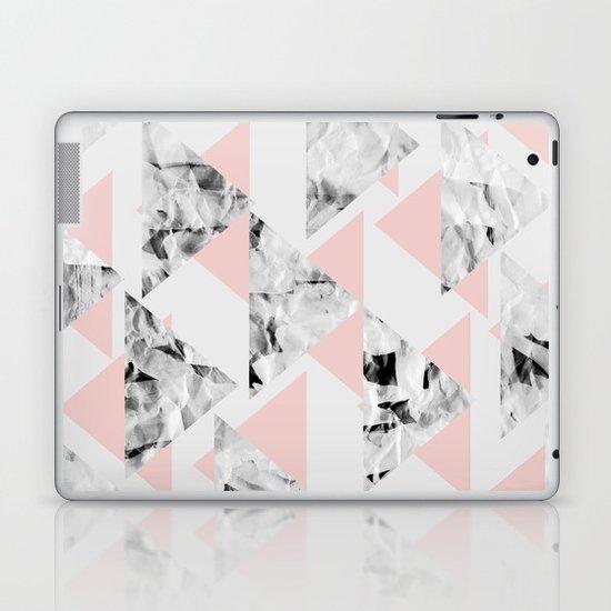 Pink Triangles Laptop & iPad Skin