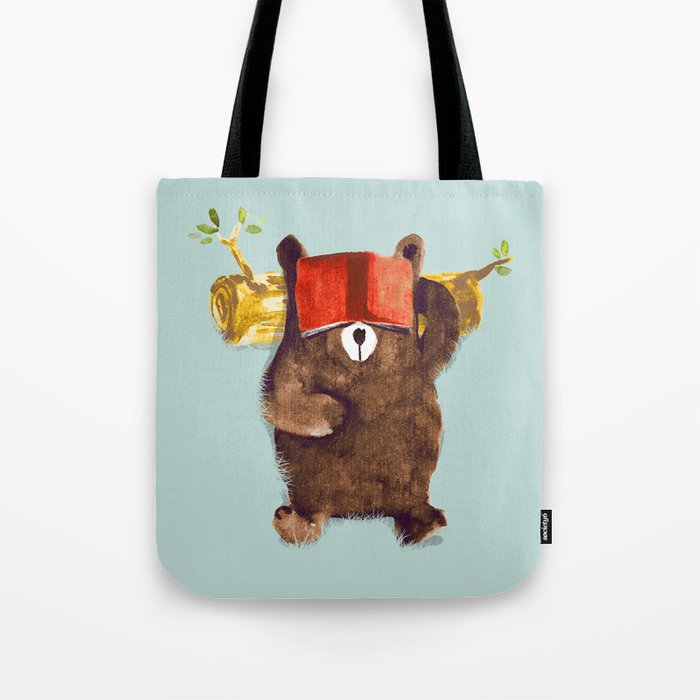 No Care Bear - My Sleepy Pet Tote Bag