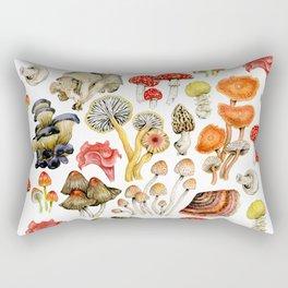 Mushroom Patterns Rectangular Pillow