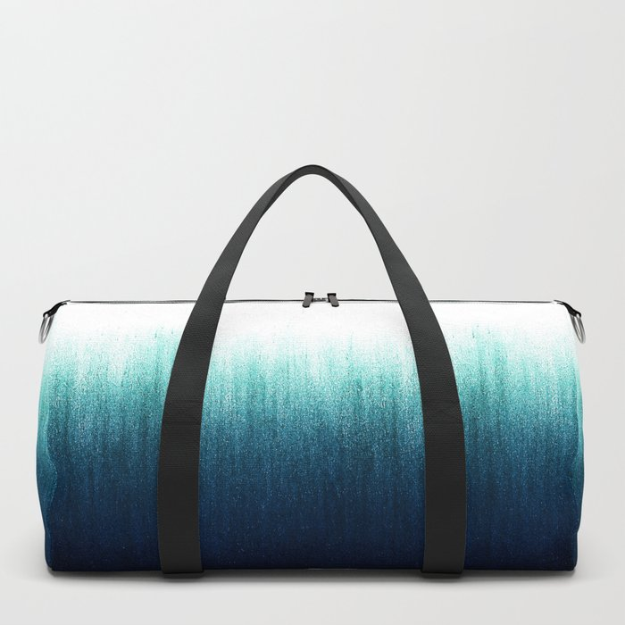 Teal Ombré Duffle Bag