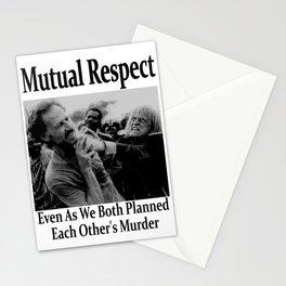 Werner Herzog and Klaus Kinski's Mutual Respect Stationery Cards