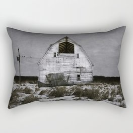 Winters come and winters go. Rectangular Pillow