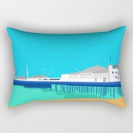 Brighton Pier Rectangular Pillow
