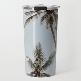 two palm trees Travel Mug
