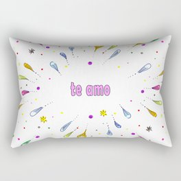 Te Amo Mi Amor Rectangular Pillow