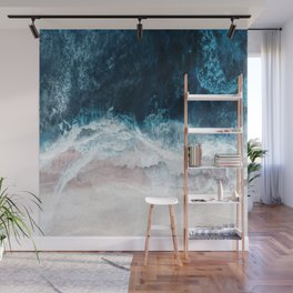 Blue Sea II Wall Mural