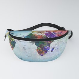 map Fanny Pack