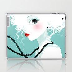 Black pearls Laptop & iPad Skin