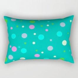 Simply Midnight Dots Rectangular Pillow