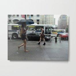 sidewalk 3 Metal Print