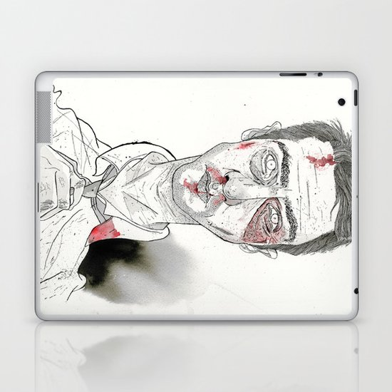 The first rule is- The Narrator Edward Norton Laptop & iPad Skin